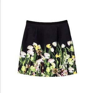 Victoria Beckham Target Floral Skirt